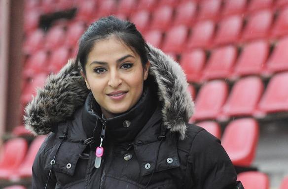 Nazanin Vaseghpanah ist die dritte Frau, die nun einen Damallsvenskan-Verein in dieser Saison übernimmt (Foto: Anders Henrikson)