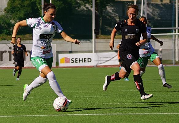 Hammarbys Emma Jansson auf dem Weg zum 1:0 gegen Göteborg